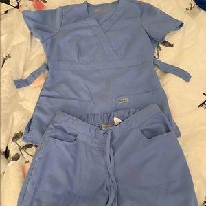 Grey's Anatomy Ceil Blue Scrubs